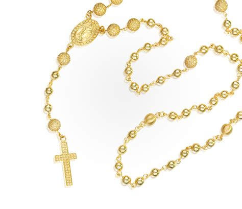 rosary gold 187 the yellow gold rosary