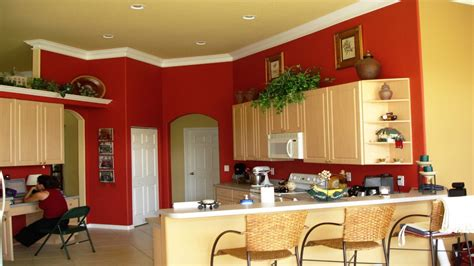 Kitchen Wall Color tropical dining wall color new colors for kitchen walls
