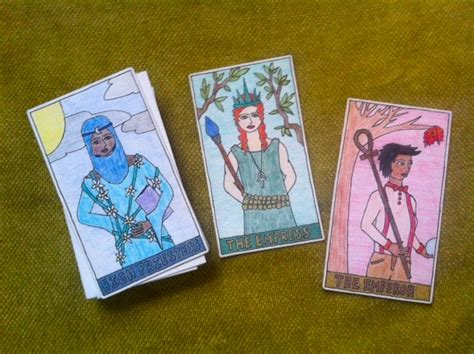own cards diy or die make your own tarot deck tarot