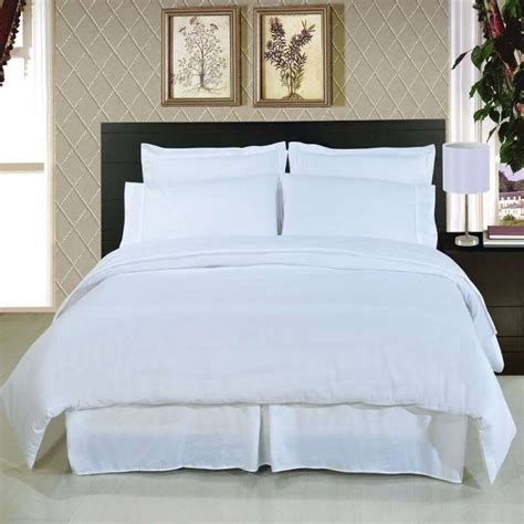 white bedding set snow white 100 cotton plain style hotel motel bedding set