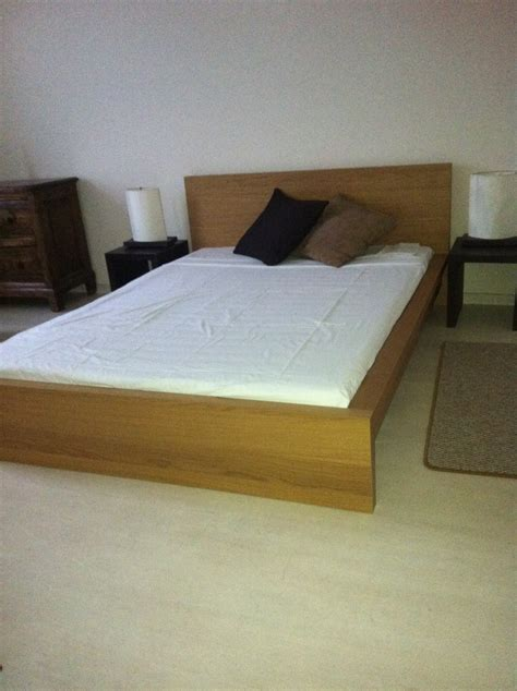 large bed frames large bed frame in light timber latitude interiors
