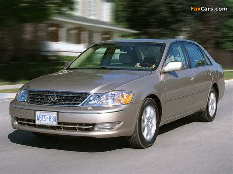 Car Wallpaper 640x480 by Toyota Avalon Mcx20 2003 05 Wallpapers 640x480