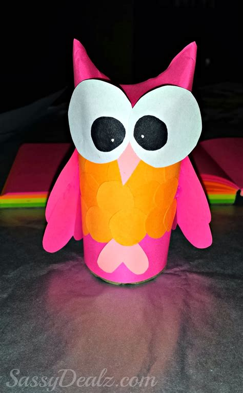 owl craft toilet paper roll paper owl crafts for images