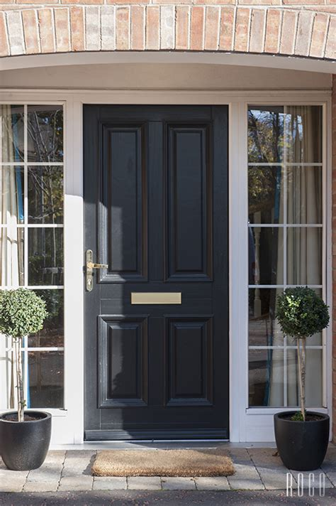 front doors with glass panels great black front door and side glass panels paint