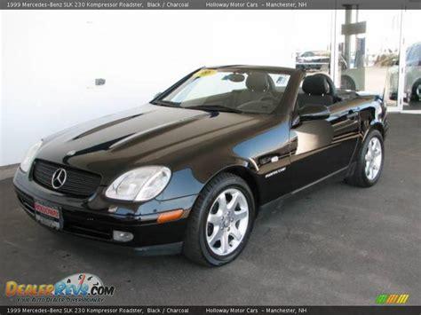 1999 Mercedes Slk230 Kompressor by 1999 Mercedes Slk 230 Kompressor Roadster Black