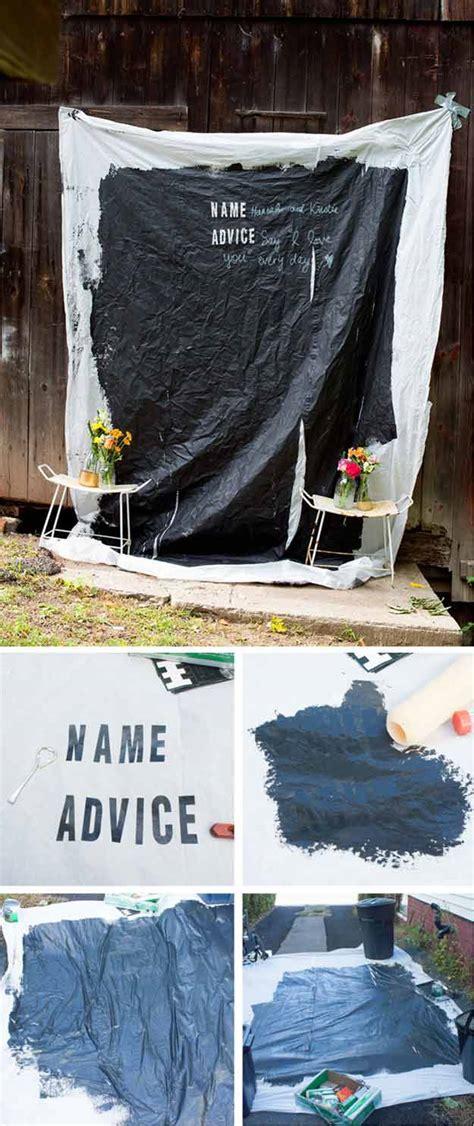 diy chalkboard photo booth 20 diy photo booth ideas diy ready
