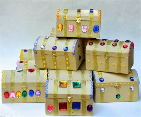 treasure chest craft for 25 best ideas about treasure chest craft on