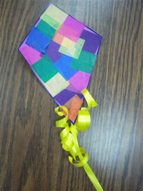 paper kite craft pin by marilynn arnold on paper craft