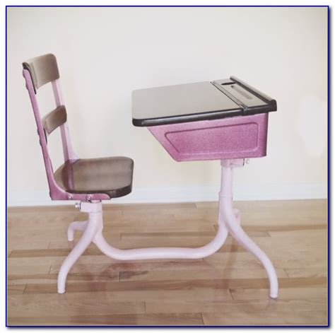 Vintage School Desk Chair Combo by Vintage School Desk Chair Combo Desk Home Design Ideas