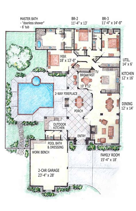 swimming pool house plans contemporary home mansion house plans indoor pool home