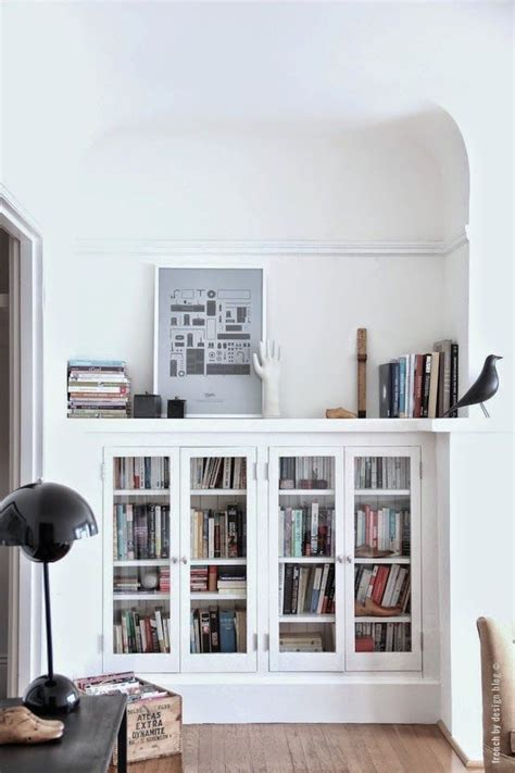 how to build a bookcase with glass doors 25 best ideas about built in bookcase on