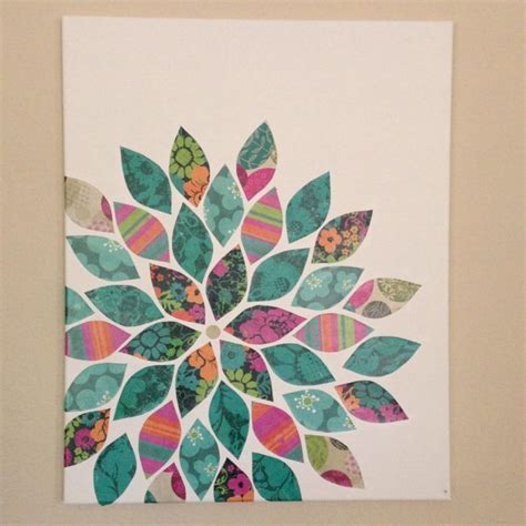 canvas craft ideas for 25 best ideas about easy canvas on flower