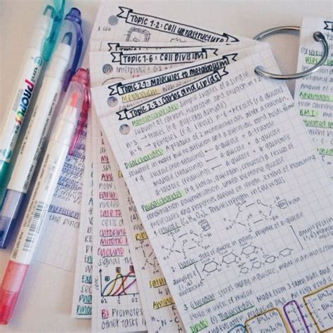 make revision cards 25 best ideas about revision notes on study
