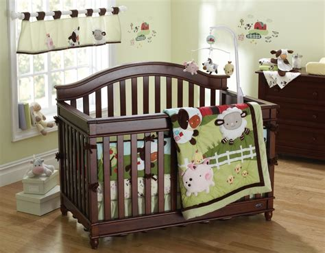 barnyard crib bedding barnyard crib bedding farm babies crib bedding and