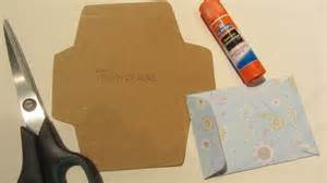 how to make gift card how to make a gift card envelope with scrapbook paper