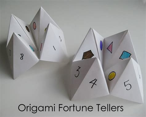 fortune tellers origami my handmade home tutorial origami fortune teller