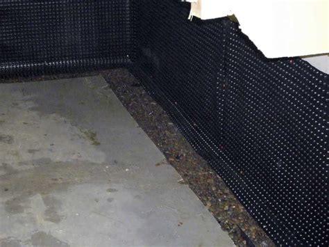 interior basement waterproofing membrane stops leaks inside basement waterproofing systems