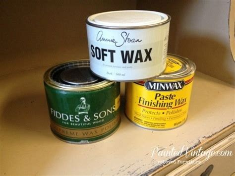diy chalk paint paste wax to wax or not to wax chalk paint three choices