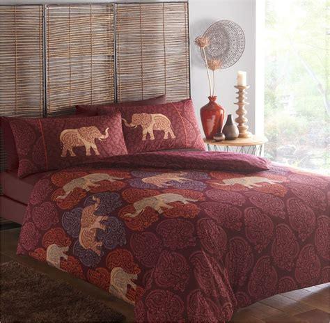 indian bedding set indian style elephant quilt duvet cover pillowcase
