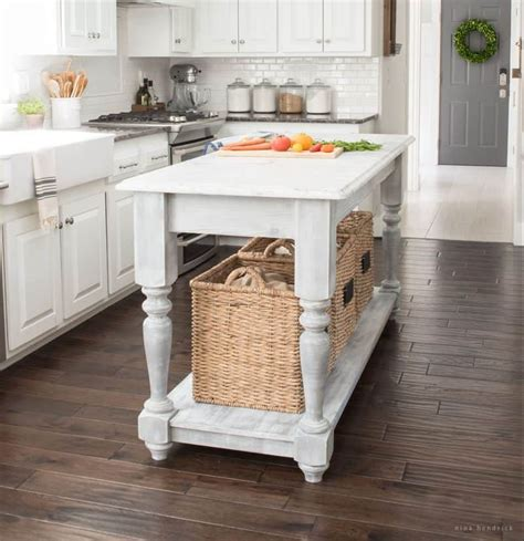 build your own kitchen island plans build your own diy kitchen island tutorial free building plans