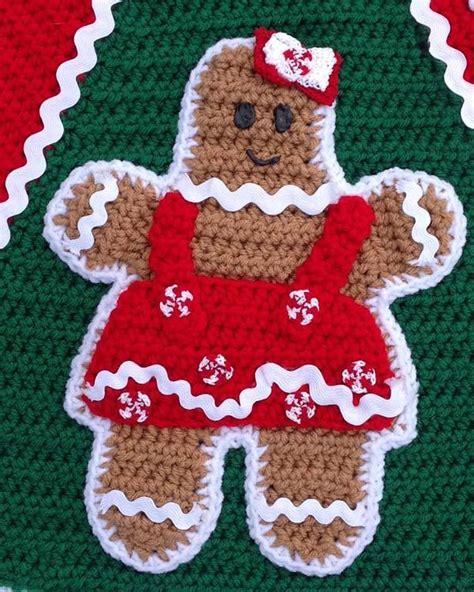 crochet tree skirts gingerbread tree skirt crochet pattern maggie s crochet