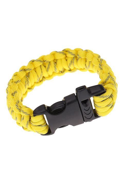 paracord bracelet with paracord parachute cord emergency kit survival bracelet