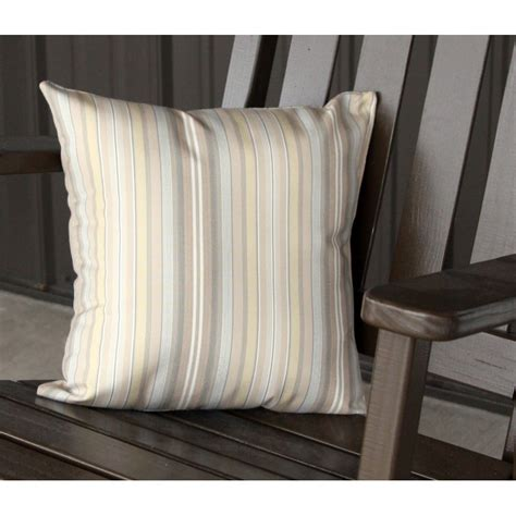 outdoor bench pillows 15 quot outdoor accessory pillow for swing bench swing bed