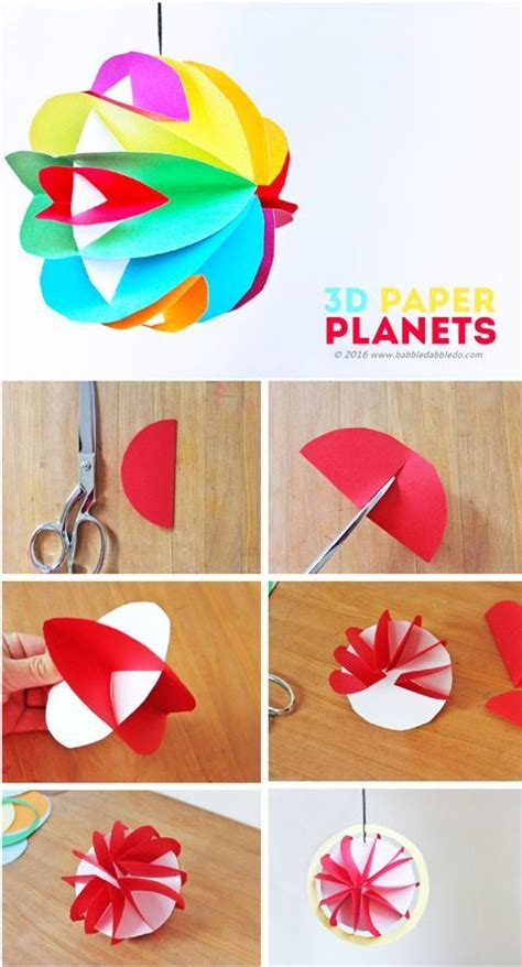 paper crafts on best 25 planet crafts ideas on space crafts