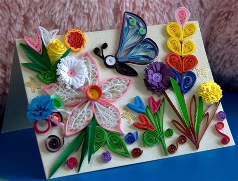 craft work paper beautiful butterfly paper quilling designs creative
