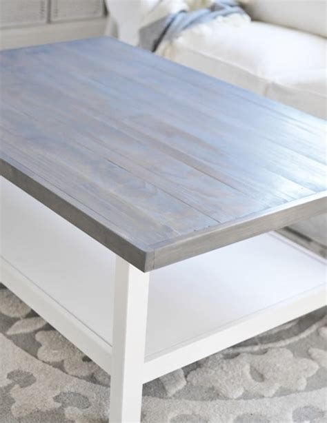 weathered grey coffee table diy weathered wood stain finishes page 2 of 2 setting