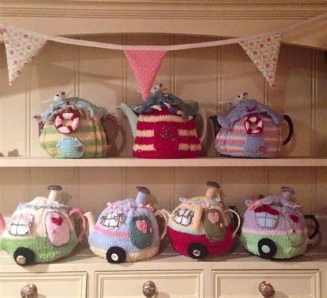 caravan knitting pattern 17 best ideas about knitted tea cosies on tea