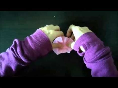 origami hibiscus origami hibiscus how to make ハイビスカスの折り紙の折り方