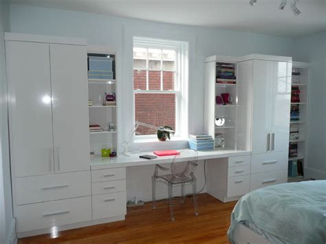 wall unit with desk desk wall unit contemporary bedroom montreal by jazzy manufacture and design