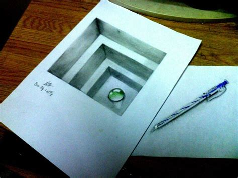 how to draw 3d minion 3d drawing by boynguyenart on deviantart pinteres