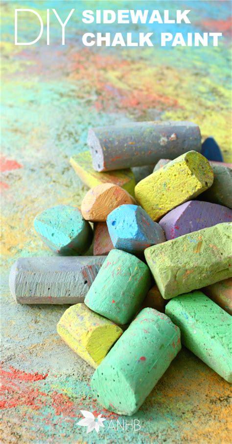 sidewalk chalk paint diy diy sidewalk chalk paint all home and