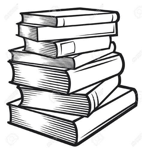 drawing book pictures stack of books clipart clipartix
