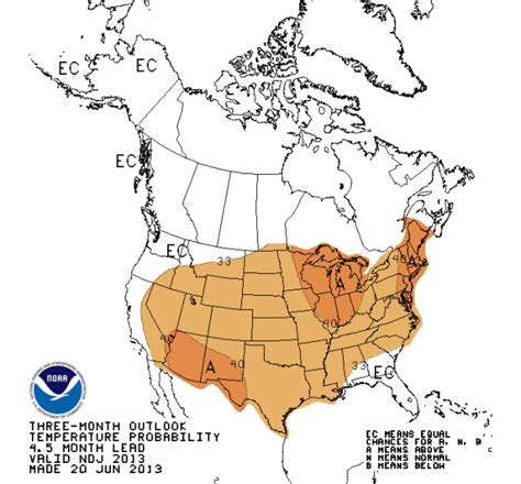 american 2013 14 winter weather forecast from noaa snowbrains