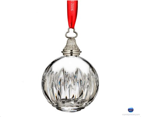 time ornaments 2016 waterford times square ornament