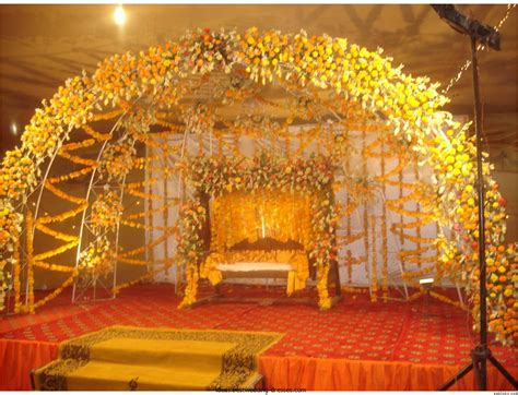 Cheap Outside Wedding Decorations by Marriage Garden Designs India Greatindex Net Wedding Stage