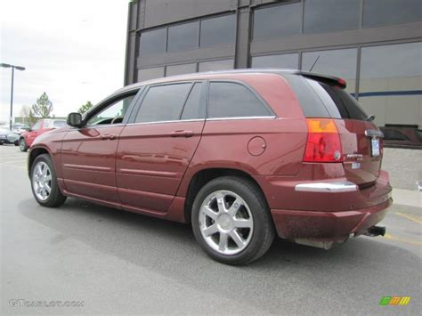 2007 Chrysler Pacifica Limited by Cognac Pearl 2007 Chrysler Pacifica Limited Awd