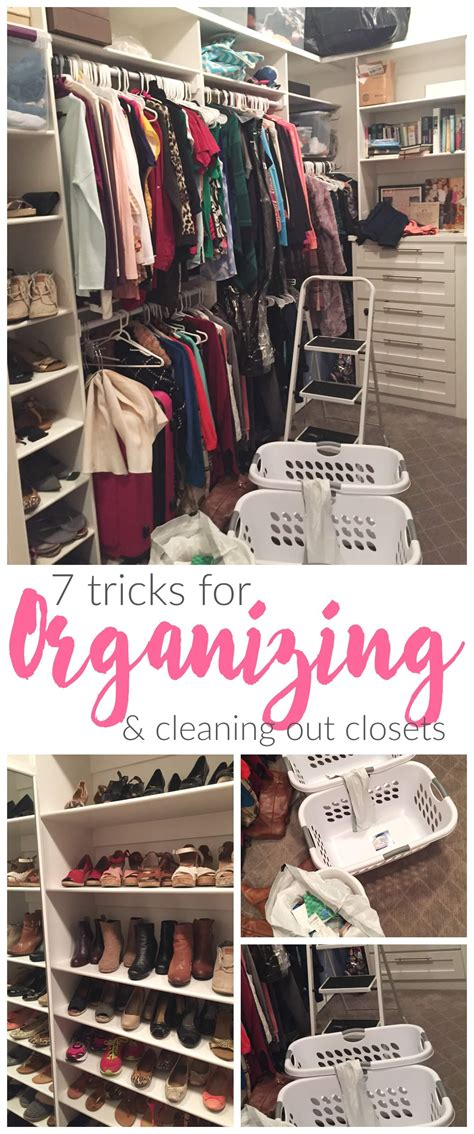 cleaning out closet 7 tricks for organizing and cleaning out your closet