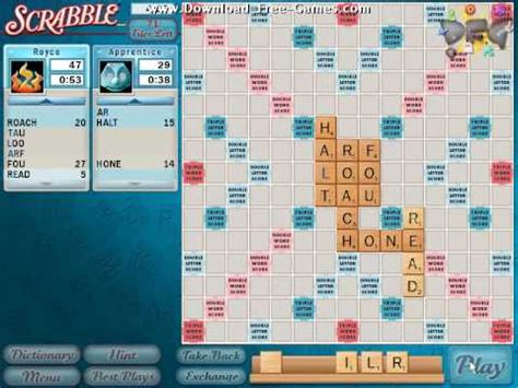 downloadable scrabble scrabble gameplay trailer free