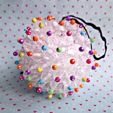 bead crafts katy clouds ornament diy