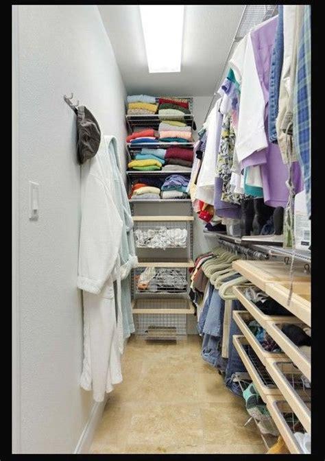 narrow walk in closet narrow walk in closet idea bedroom
