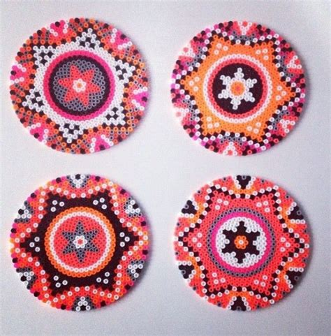 bead designs 17 best ideas about hama coasters on
