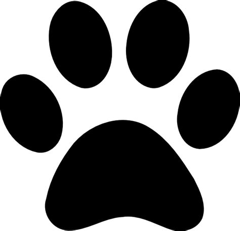 paw print free a wolf paw print coloring pages