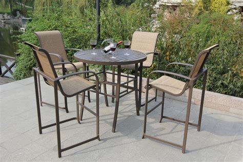 patio furniture bar height set how to choose the right bar height patio furniture