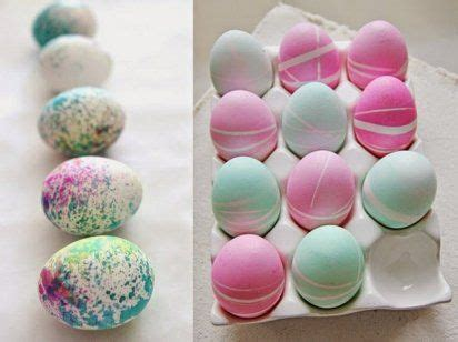 easter rubber sts ideas originales para decorar huevos de pascua easter