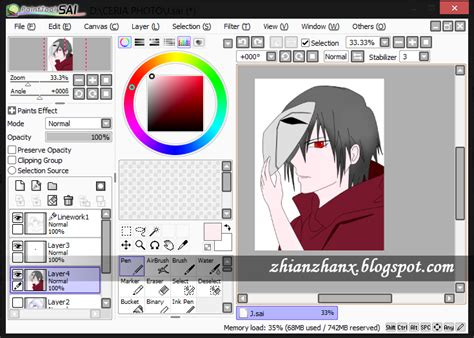 paint tool sai version free 2014 paint tool sai