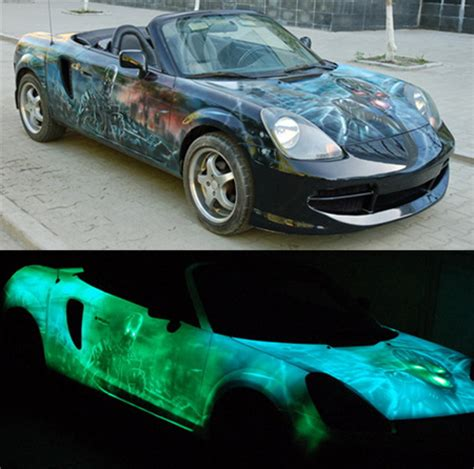 glow in the paint for cars glow in the car paint car glow in the